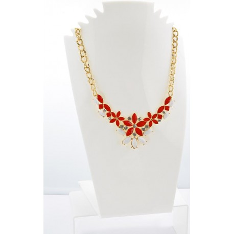 Collier ATHENA Princess Création Email et Strass 62154