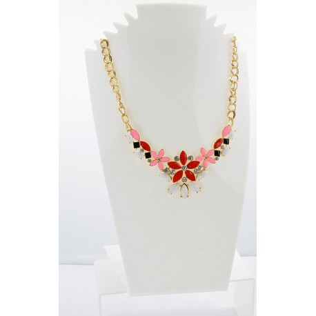 Collier ATHENA Princess Création Email et Strass 62156