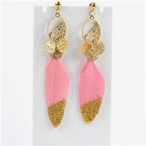 1p Drop Earrings 9cm Original Feather Collection 2019 76508