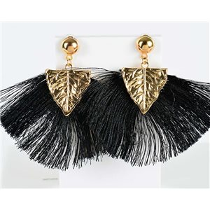 1p Boucles Oreilles Pendantes à clou 8cm New Collection Pompon 2019 76719
