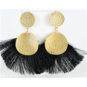 1p Boucles Oreilles Pendantes à clou 10cm New Collection Pompon 2019 76703