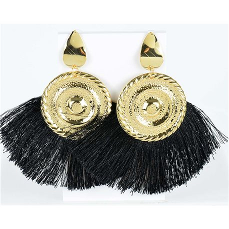 1p Boucles Oreilles Pendantes à clou 10cm New Collection Pompon 2019 76707