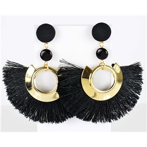 1p earring pendant earrings 8cm New Collection Pompon 2019 76711