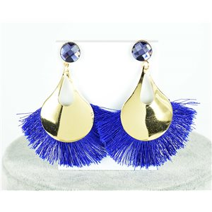 1p Boucles Oreilles Pendantes à clou 8cm New Collection Pompon 2019 76698