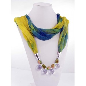 Collier Foulard Bijoux Collection Fashion 65256