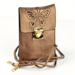Sac Pochette Femme en Cuir PU 11*17cm New Collection 77045