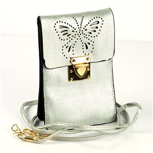 Sac Pochette Femme en Cuir PU 11*17cm New Collection 77047