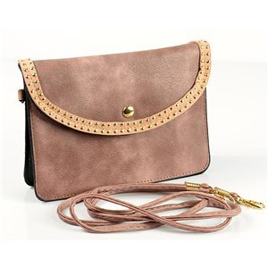 Women's PU Leather Pouch Bag 18 * 13cm New Collection 77033