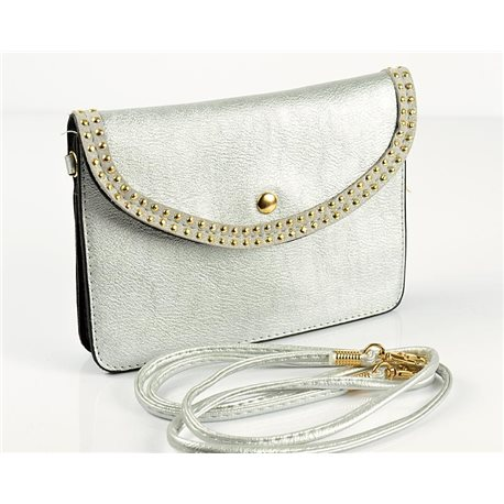 Women's Pouch Bag in PU Leather 18 * 13cm New Collection 77034