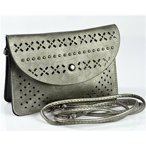Women's Pouch Bag in PU Leather 19 * 13cm New Collection 77037