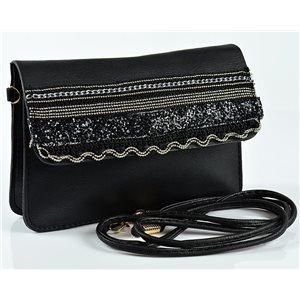 Women's Pouch Bag in PU Leather 19 * 13cm New Collection 77054