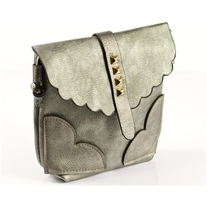 Women's PU Leather Pouch 18 * 18cm New Collection 77025