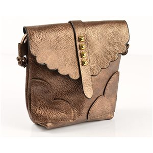 Women's PU Leather Pouch 18 * 18cm New Collection 77026