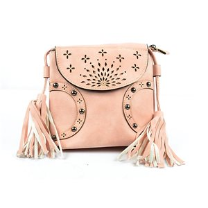 Women's PU Leather Pouch Bag 18 * 18cm New Collection 77014