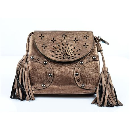 Women's PU Leather Pouch Bag 18 * 18cm New Collection 77017