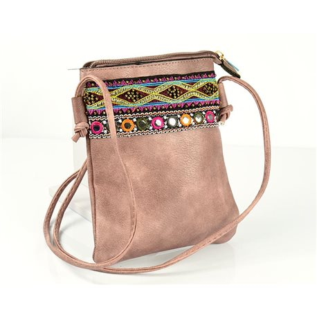 Women's Pouch Bag in PU Leather 13 * 19cm New Collection 77051