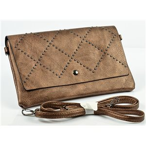Women's Pouch Bag in PU Leather 27 * 16cm New Collection 77011