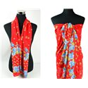 Scarf Pareo sail polyester 140cm-90cm New Summer Collection 77087