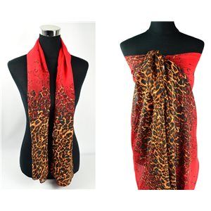 Scarf Pareo sail polyester 140cm-90cm New Summer Collection 77095