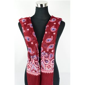 Polyester scarf 180cm-75cm New Summer Collection 77107