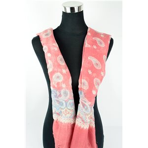 Polyester scarf 180cm-75cm New Summer Collection 77108