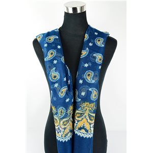Polyester scarf 180cm-75cm New Summer Collection 77109