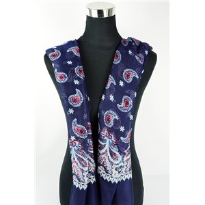 Polyester scarf 180cm-75cm New Summer Collection 77110