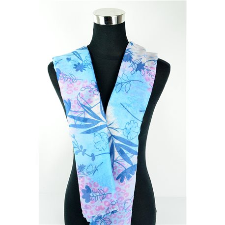 Polyester scarf 180cm-75cm New Summer Collection 77129
