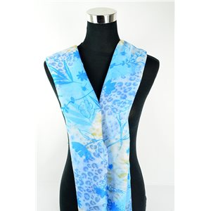 Polyester scarf 180cm-75cm New Summer Collection 77130