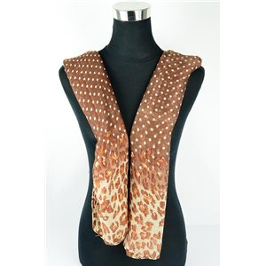 Polyester scarf 180cm-75cm New Summer Collection 77137