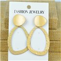 1p Earrings Nail 60mm metal color GOLD New Graphika 77379