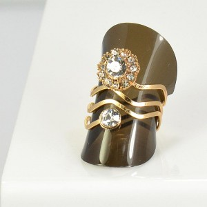 Bague Strass réglable New Style Full Strass 66061