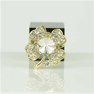 Bague Strass réglable Doré Full Strass New Collection 78540