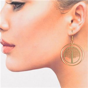 1p Filigree Golden Hook Earrings New Collection 78781
