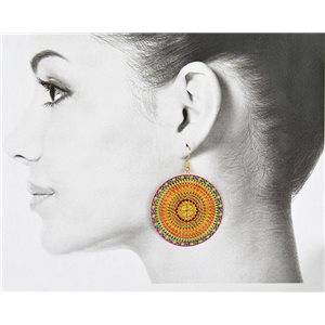 1p Filigree Golden Hook Earrings New Collection 78836