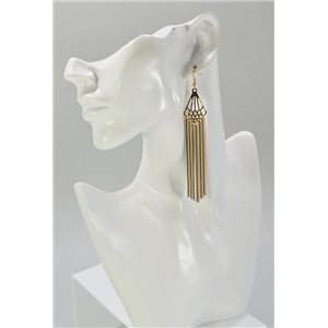 1p Boucles Oreilles Pendante Collection Mode Chic 67457