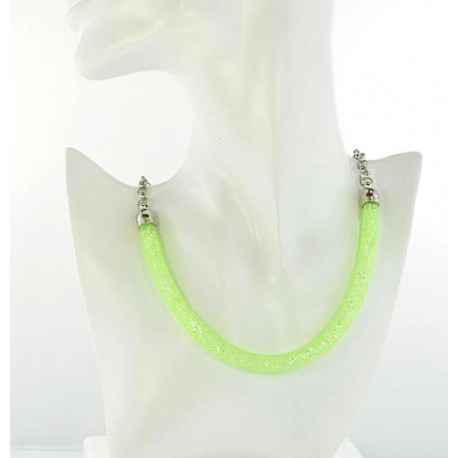Top Fashion Necklace chain and Resille L48cm 64527