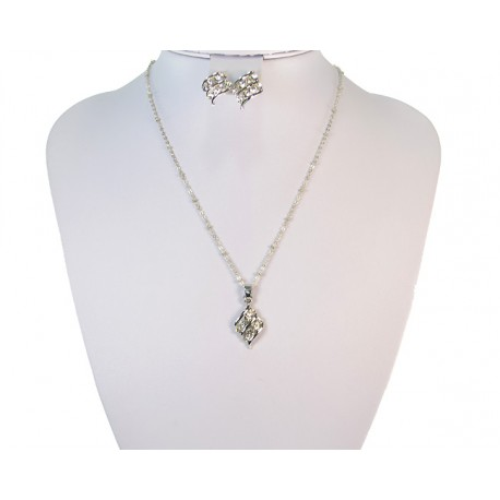 Finery Iris Strass on 58785 fancy chain