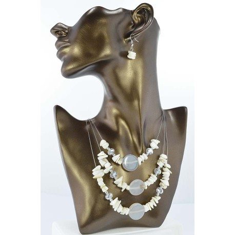 Pearl suspension Fashion adornment and beads Facets 65321