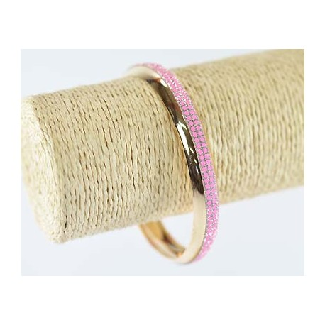 Glitter Bracelet 1 element gold metal 60163