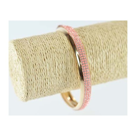 Glittery gold metal bracelet 1 Item 60165