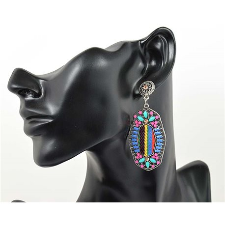1p Earrings ATHENA TOP Ethnic Collection Summer 2016 69446