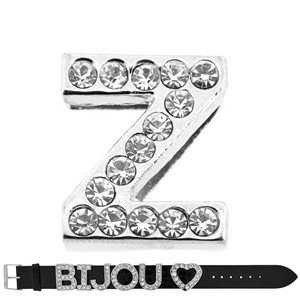Initial Full Rhinestone Bracelet 20mm to 18mm name Letter Z 69226