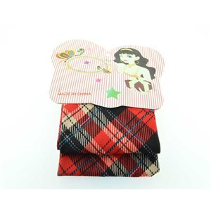 polyester hair band fashion Scottish width 7cm 70701
