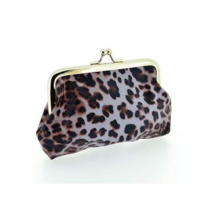 Porte monnaie PVC L13-H9cm Collection Panthere Leopard 70857