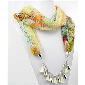 polyester scarf necklace jewelry new collection 2017 70974