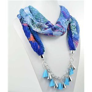 polyester scarf necklace jewelry new collection 2017 70977