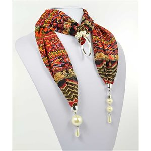 Collier Foulard Bijoux Polyester New Collection 70995